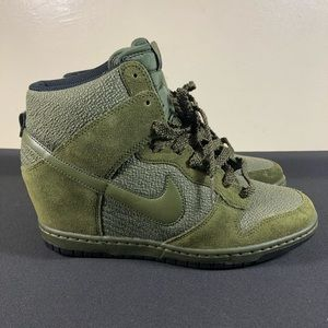 Nike Dunk Sky Hi Sneakers.